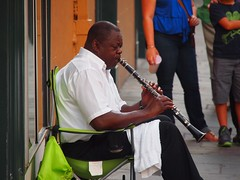 Streetmusic in New Orleans (Louisiana, USA 2012)