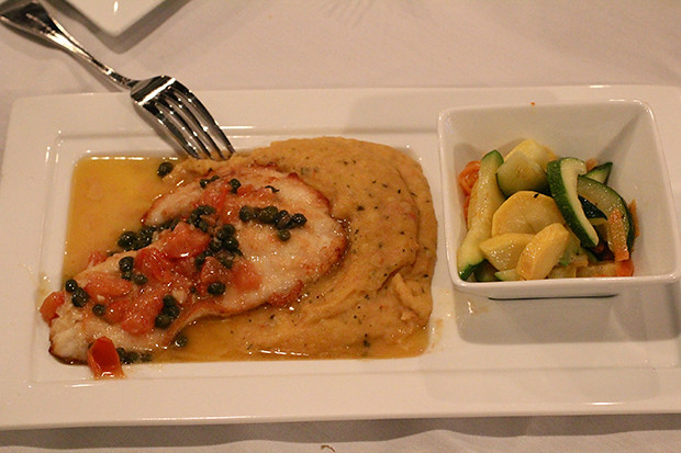 Catch of the Day, Triggerfish, Duval's New World Cafe, Sarasota, FL