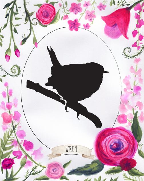 wrensilhouette