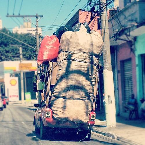 Carro lixo