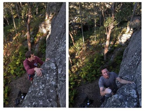 australia climbing nsw rockclimbing nowra thompsonssunrise