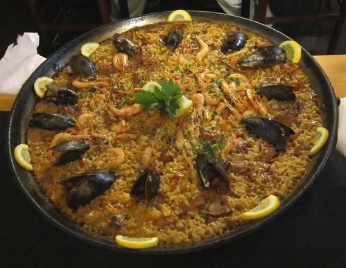 パエリア@バルセロナのレストラン 2012年6月7日 by Poran111