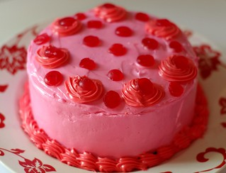 Mini Strawberry Cake
