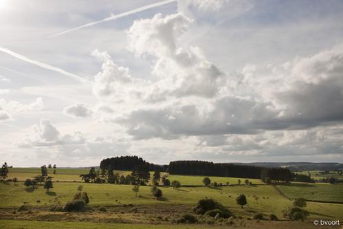 Landschap bij Grüffelingen/Schirm, GR5 / E2