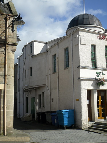 Side of Hippodrome Cinema, Bo'ness