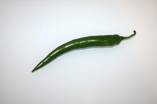 05 - Zutat grüne Chili / Ingredient green chili
