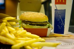 sandwich, meal, lunch, breakfast, junk food, hamburger, yellow, restaurant, veggie burger, fast food restaurant, produce, french fries, food, dish, fast food,