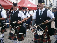 festival, musician, musical instrument, kilt, marching, person, bagpipes,