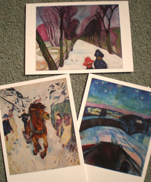 Edward Munch Postcards
