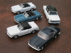 Fiat 1500 & 1600 Spider, 2100 Berlina & 2300S Coupe Ghia