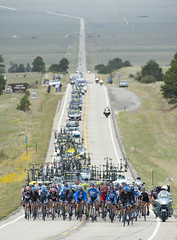 Garmin-Sharp on the front at USA Pro Challenge
