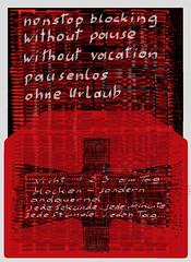 Mailart Envelope Letter Paper Kimono (35 + 33 + 33 + 35)  x 3 = 136 x 3 = 408 = 3 x 136 = 3 x (33 + 35 + 35 + 33)  Der Krieger blockt pausenlos ohne Urlaub - nicht 1 2 3 täglich sondern jede sekunde jede minute jede stunde jeden tag ganze Jahre andauernd