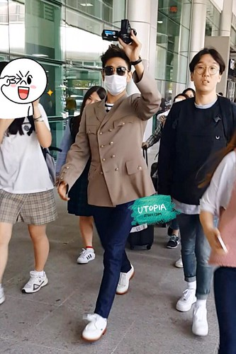 Big Bang - Jeju Airport - 19may2015 - TOP - Utopia - 01