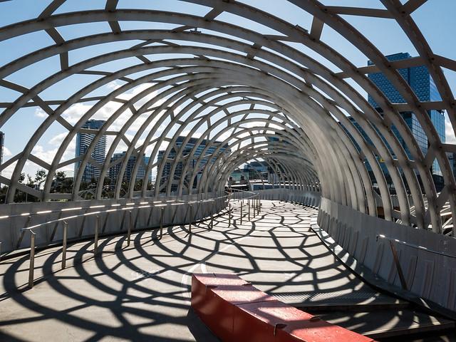 Webb Bridge shadows