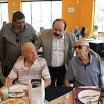 Levy Fidelix visita Veteranos da FAB em Santana na Confeitaria Polar