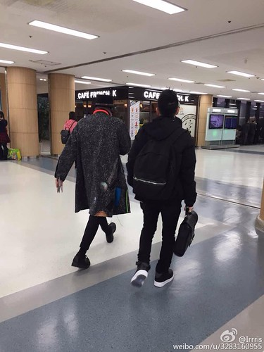 Big Bang - Gimpo Airport - 15jan2015 - G-Dragon - Irrris - 01