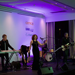 Closing band at the Cemtech 25th Anniversary Gala Dinner