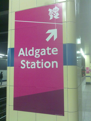 Aldgate Station by LoopZilla