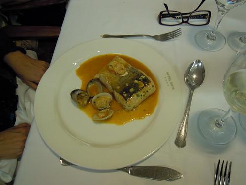 Zaragoza | Hotel Goya | Lomo de merluza donostiarra