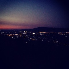 Eugene from the Butte