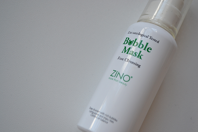 daisybutter - UK Style and Fashion Blog: skincare, beauty, review, zino bubble mask review, sasa.com, pore cleansing mask