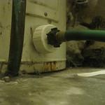 fixing a water heater leak