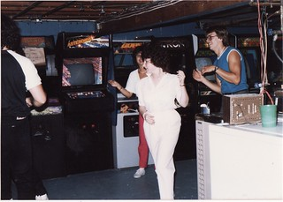 BOB'S GAMEROOM IN 1985