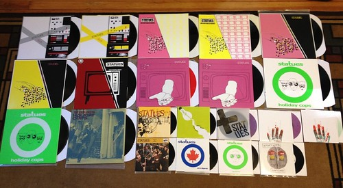 "Collection: Statues - LPs & 7""s by Tim PopKid"