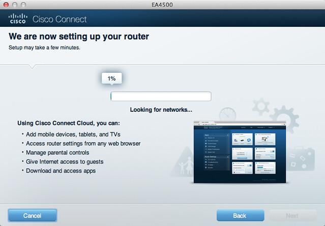 Cisco Linksys EA4500 - Setup