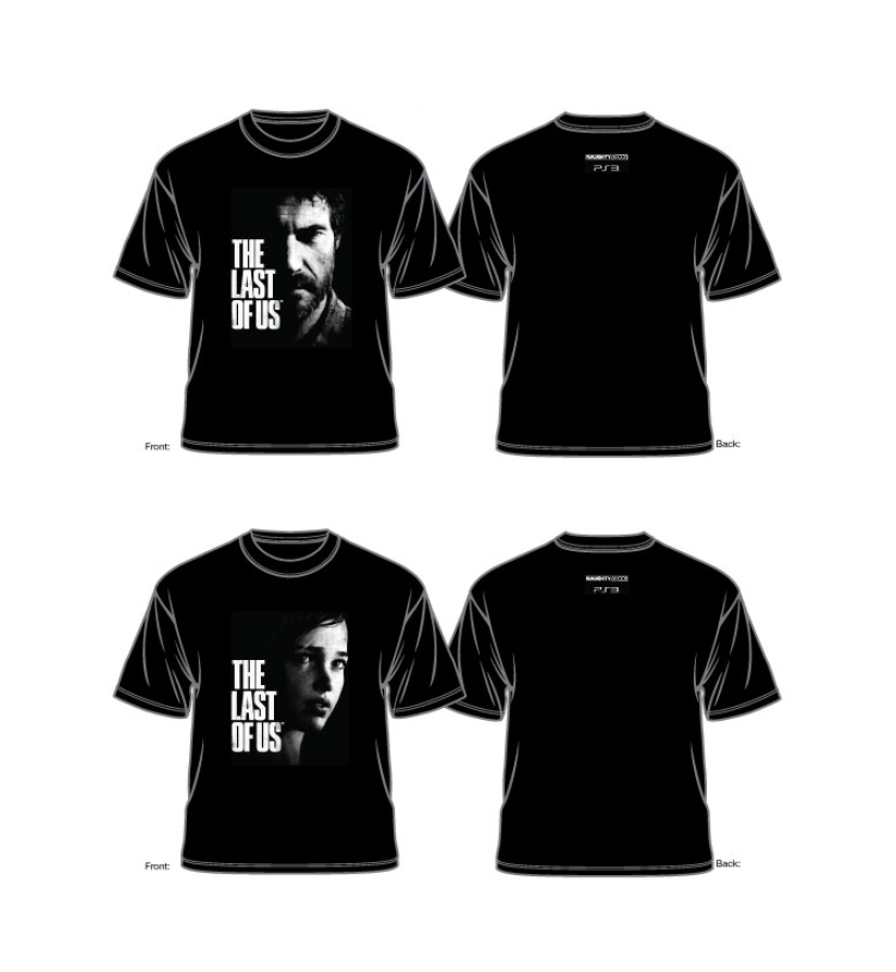 The Last of US SDCC t-shirts