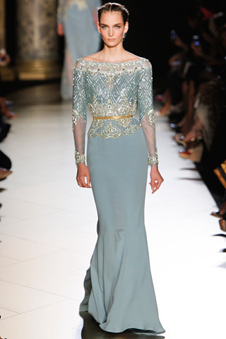 Elie-Saab-Couture-Fall-2012 20 Zuzanna Bijoch (NEXT)