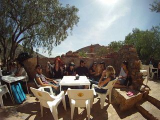Lunch in San Pedro, Ghost town in San Luis Potosi