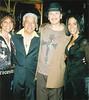 Carlos Santa with Juanita Pete and Sheila