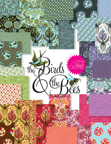 The Birds and The Bees by Sew Love Fabrics