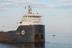 M/V Algosoo enters Duluth Ship Canal