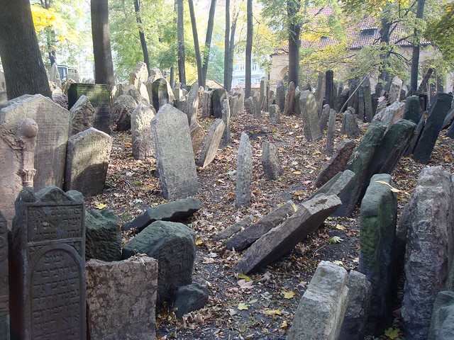 The Old Jewish Cemetery, Prague