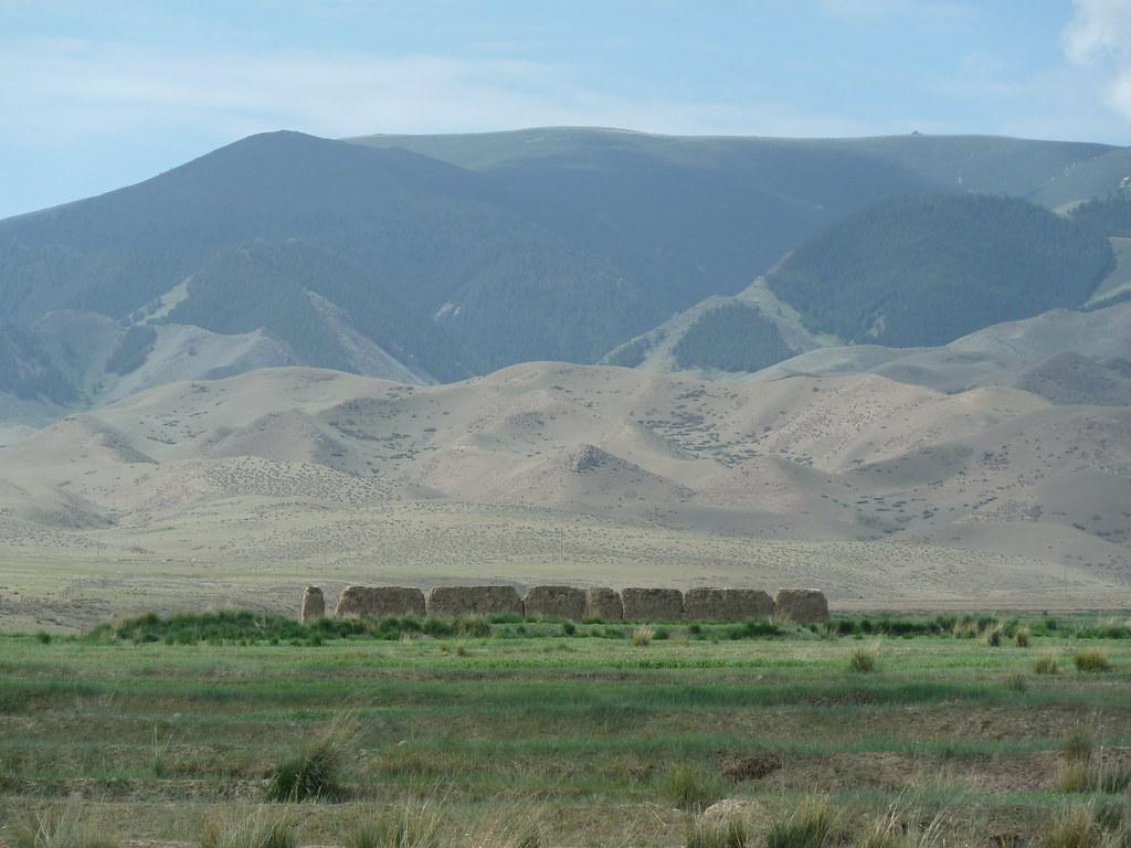 La Gran Muralla, prop de Fengchengbao (Gansu, Xina)