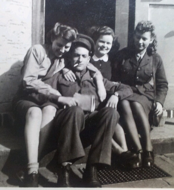 Hannie, Diepholz, Germany, 1946, Germany Displaced Persons DPAC (Transit Camp No 36) British Zone