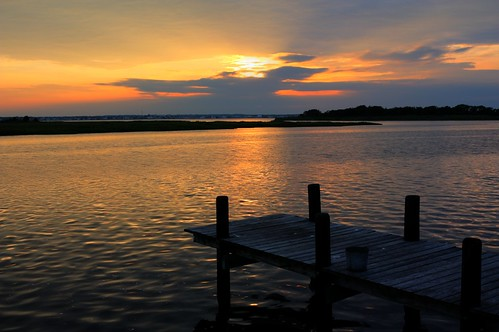 Bernegat Bay Sunset by Kevin Borland