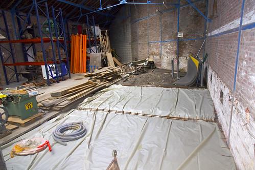 Préparation du sol pour une dalle
