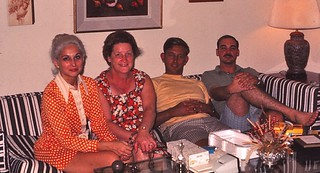 Virginia-Virginia Beach  -  Mary Rose, my mother, John & Ted Stearns  -   September 1971