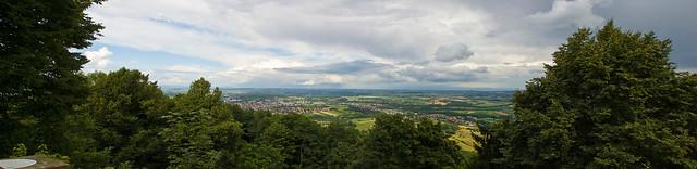 Panorama depuis le Chateau du Haut Barr
