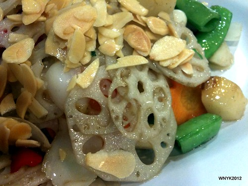Stir-fried Lotus Root