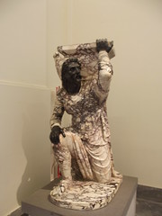 National Archaeological Museum of Naples - Kneeling barbarian