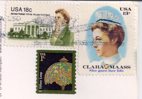 Clara Maass US Stamp