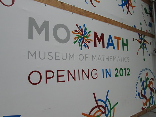 MOMATH, Museum of Mathematic, NYC. Nueva York