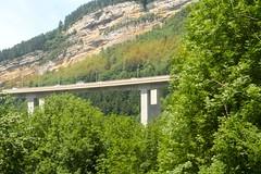Vue depuis le TGV Paris - Geneve