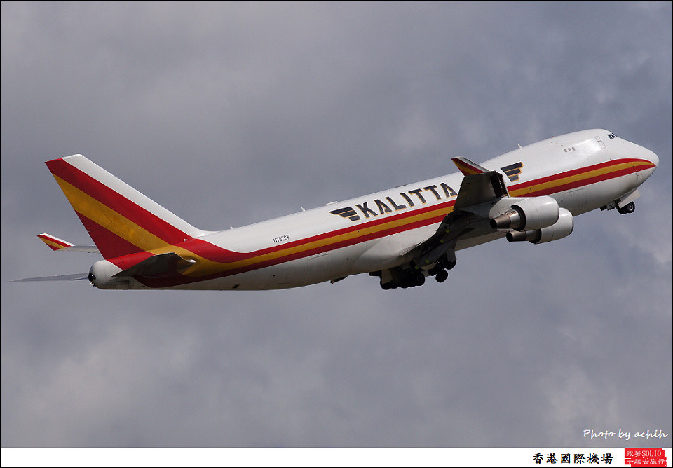 Kalitta Air N782CK / Hong Kong International Airport