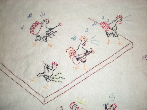 modified pattern - chicken bar scene detail 3