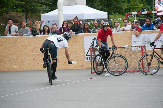 Bike polo breakaway
